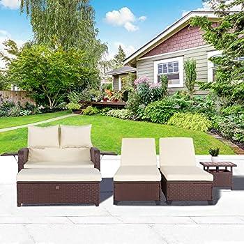 Amazon Com Outdoor Futon Convertible Sofa Daybed Deep