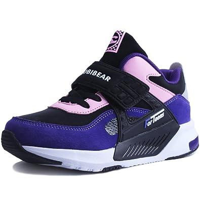 5c8420b42316 Sneakers Enfant Baskets Montantes Garcon Chaussure de Course Mode Garcon  Fille Sport Runing Shoes Competition Entrainement