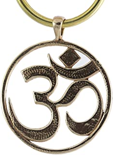 product image for Om Peace Bronze Pendant Key Chain