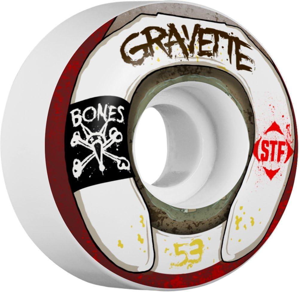 Bones Wheels Gravette Wasted Life V2 Street Tech Formula Wheels