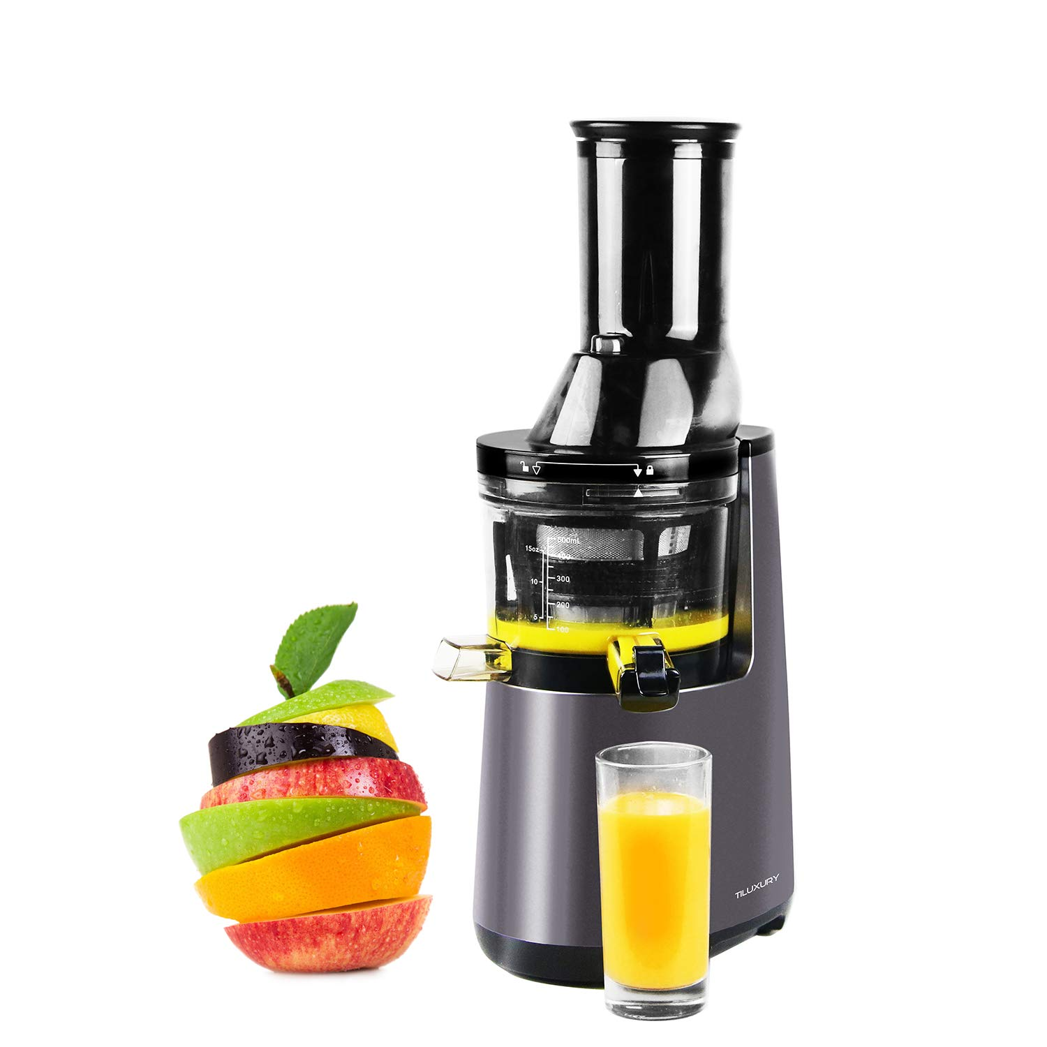 Slow Masticating Juicer Extractor, Cold Press Juicer,Cold Press Juicer Machine with 3
