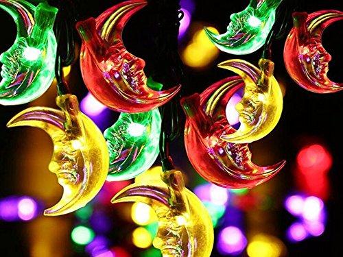 20 Colour Change Solar Party Lights
