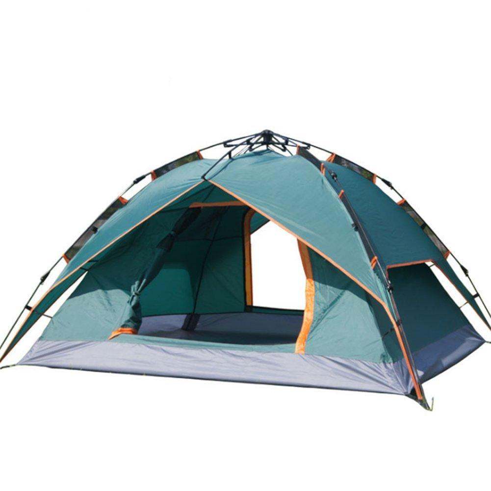 Campingzelt Wasserdichtes Feuchtigkeitsfestes Leute-Strand-Zelte Doppelseil-Automatische Offene 3-4 Leute-Strand-Zelte Feuchtigkeitsfestes 081c71