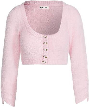 For Love /& Lemons Womens Long Sleeve Faux Mohair Sweater
