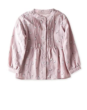 Amazon Vyu Long Sleeve Girls Floral Print Shirt Kids Knit Top