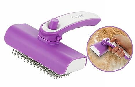 Poodle Pet - Cepillo de aseo para perros, gatos, caballos, conejos y más