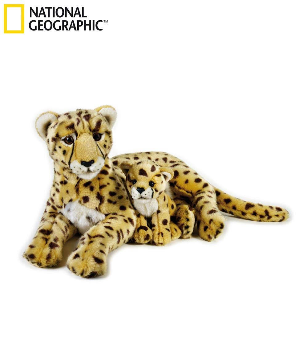 NATIONAL GEOGRAPHIC Cheetah with Baby Plush Set by NATIONAL GEOGRAPHIC