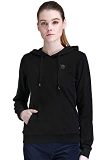 3dabfb9b87f CAMEL CROWN Pullover Sweaters for Women Soft Hooded Sweatshirt Long Sleeve  Warm Hoodies with Pockets