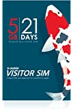 JCI b-mobile VISITOR SIM 5GB/21days Prepaid data SIM (Nano) BM-VSC-5GB21DN