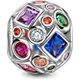 NinaQueen - Vita colorata - Charms Bead da donna argento sterling 925