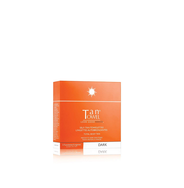 Tan Towel Total Body Tan Dark, 0.25 fl. oz.