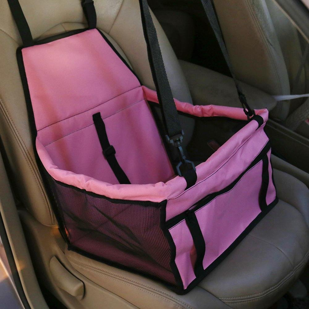B Daeou Pet Backpack Breathable car Cushion Waterproof Dog mat Bag