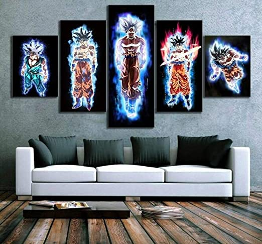 """12/""""x12/"""" Dragon Ball HD Canvas Print Painting Home Decor room Wall art Picture"""