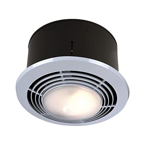 NuTone Exhaust Fan, Heater, Light, and Nightlight Combo, Bathroom Ceiling Heater