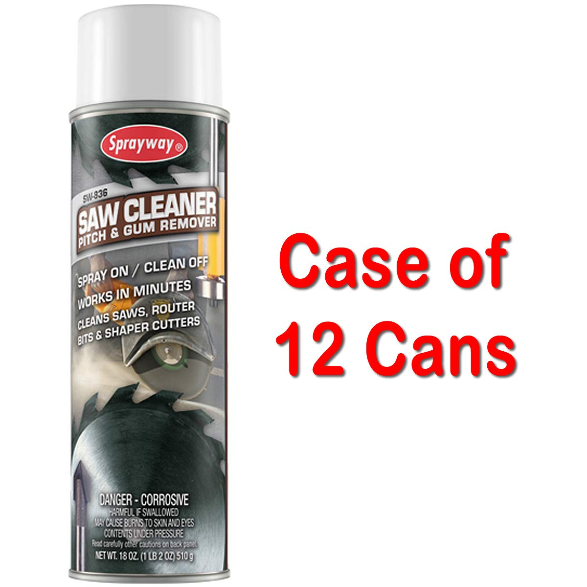 Saw Cleaner and Pitch & Gum Remover - Case:12
