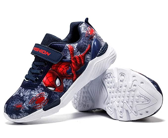 Amazon.com: Bebe Shoes Cartoon Shoe Princess Spiderman Shoes ...