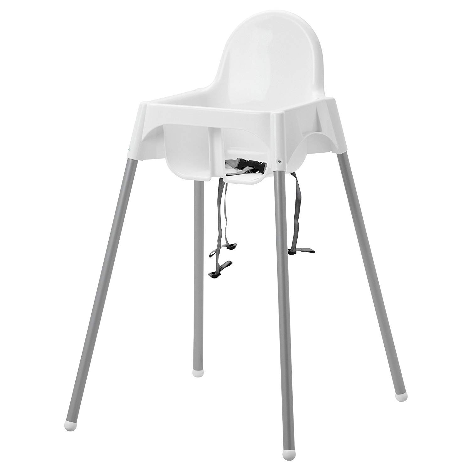 Cool Ikeas Antilop Highchair With Safety Belt White Silver Color And Antilop Highchair White Short Links Chair Design For Home Short Linksinfo