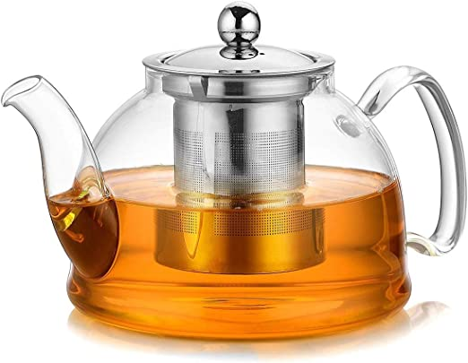 68 oz Explosion-Proof Heat-Resistant Glass Water Jug Restaurant Juice Glass Bottle Flower Teapot Fragile Product
