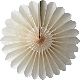 product image for 6-Pack 18 Inch Tissue Paper Fanburst (Classic Ivory)