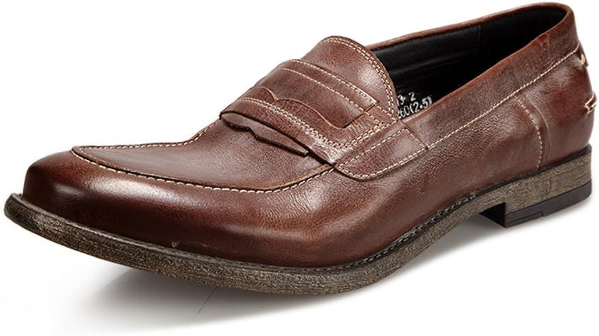 Zapatos Casuales de Negocios/Viento Retro Punto Tendencia de ...