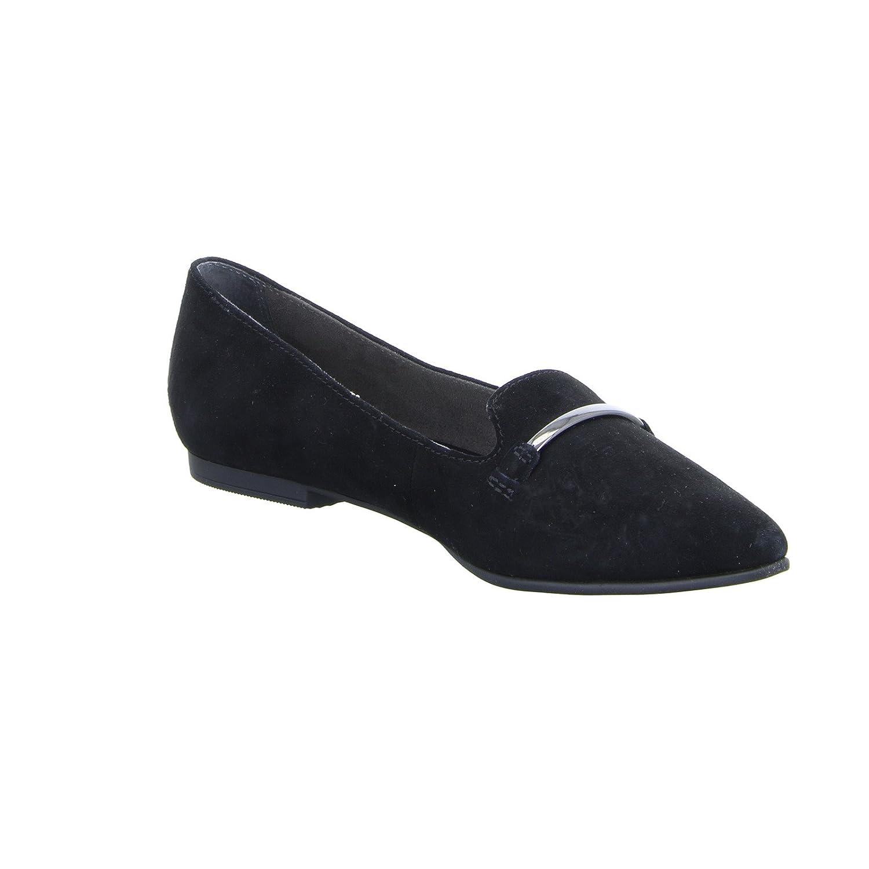 S.Oliver 55 24201 schwarz Schwarz Label Damen Ballerina Schwarz schwarz (schwarz) 6c164a