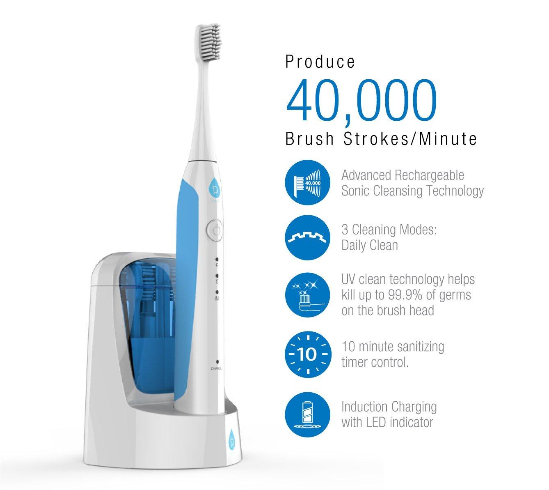Amazon.com: Pursonic S750 Cepillo de dientes sónico con ...