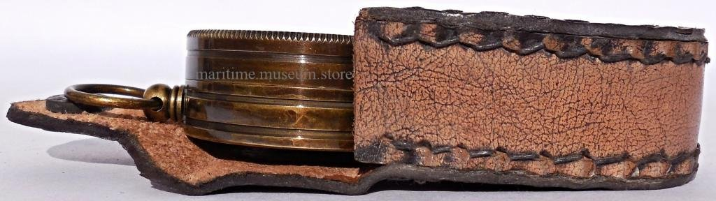 MAH Pocket Brass Sundial Compass, Both Side Work on The Bird. C-3005 by MAH (Image #3)