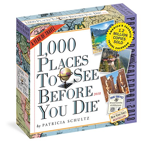 1,000 Places to See Before You Die Page-A-Day Calendar 2018 cover
