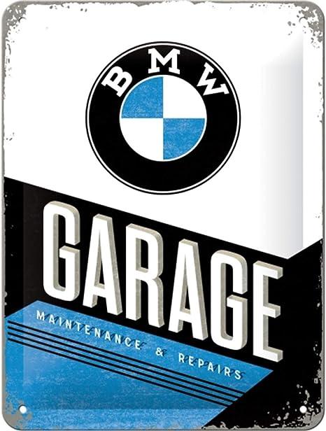 Nostalgic Art Retro Blechschild Bmw Garage Geschenk Idee Für Auto Zubehör Fans Aus