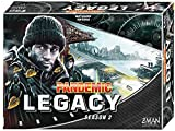 Gather your gear and prepare to venture into the unknown! in Pandemic legacy: season 2, the world has been ravaged by a Virulent plague and humanity very survival hangs in the balance. It is up to you to get the last remaining cities the supplies the...