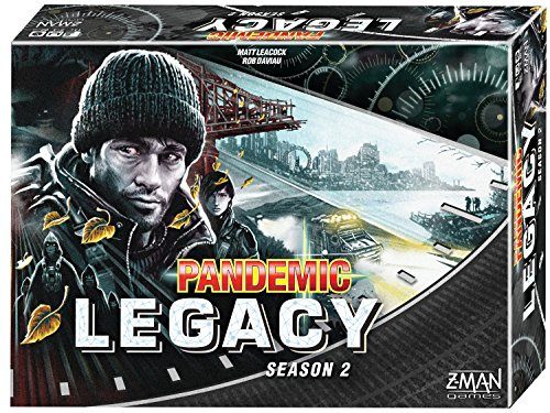Z-Man Games Pandemic: Legacy Season 2 (Black Edition) Board Games by Z-Man Games