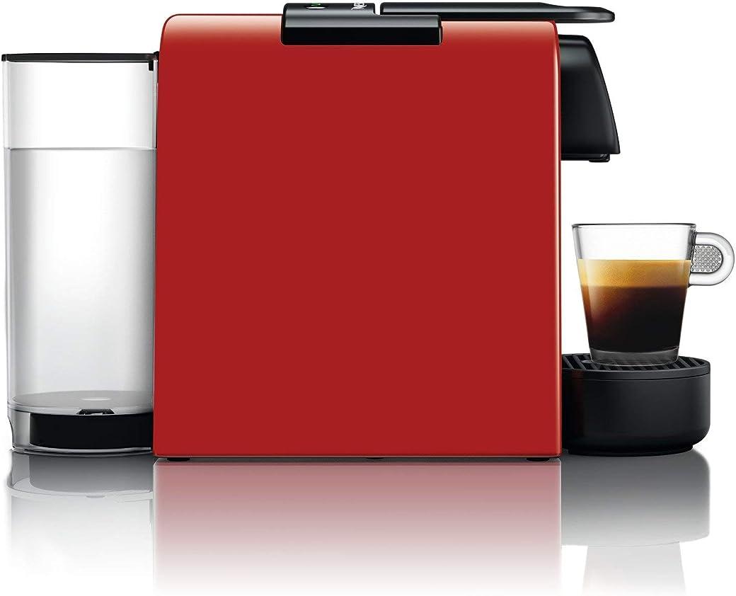 Nespresso De'Longhi Essenza Mini EN85.R - Cafetera monodosis de cápsulas Nespresso