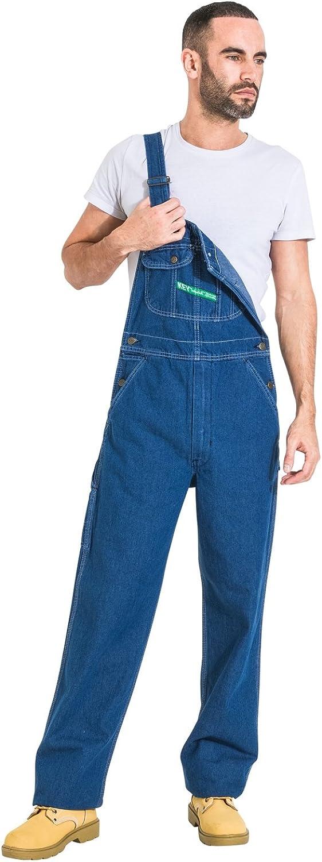Salopette qualita` Premium Key Industries Effetto Stonewash Abbigliamento da KEY02-36W-30L
