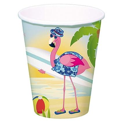Folat 8 Vasos de Fiesta * Flamenco * para Fiesta temática o ...