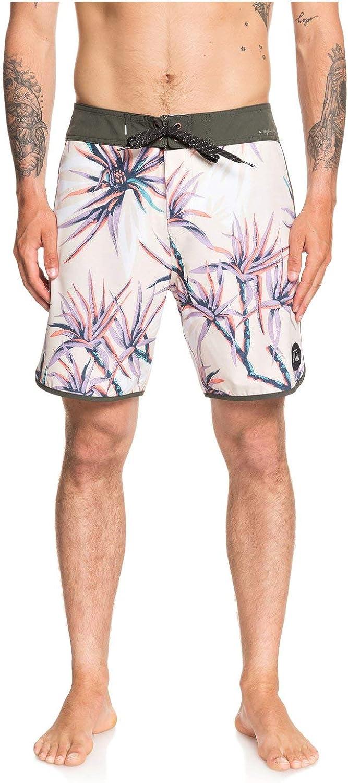 Quiksilver Mens Highline Salty Palms 18 Boardshort Swim Trunk Board Shorts