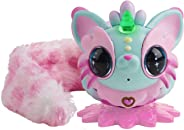 Pixie Belles - Interactive Enchanted Animal Toy, Aurora (Turquoise)