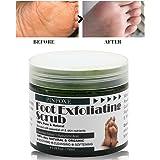 Foot Exfoliation, Foot Scrub, Foot mask to Remove Cornea, Foot Callus Remover, Natural exfoliator Dry Skin Remover softens fo