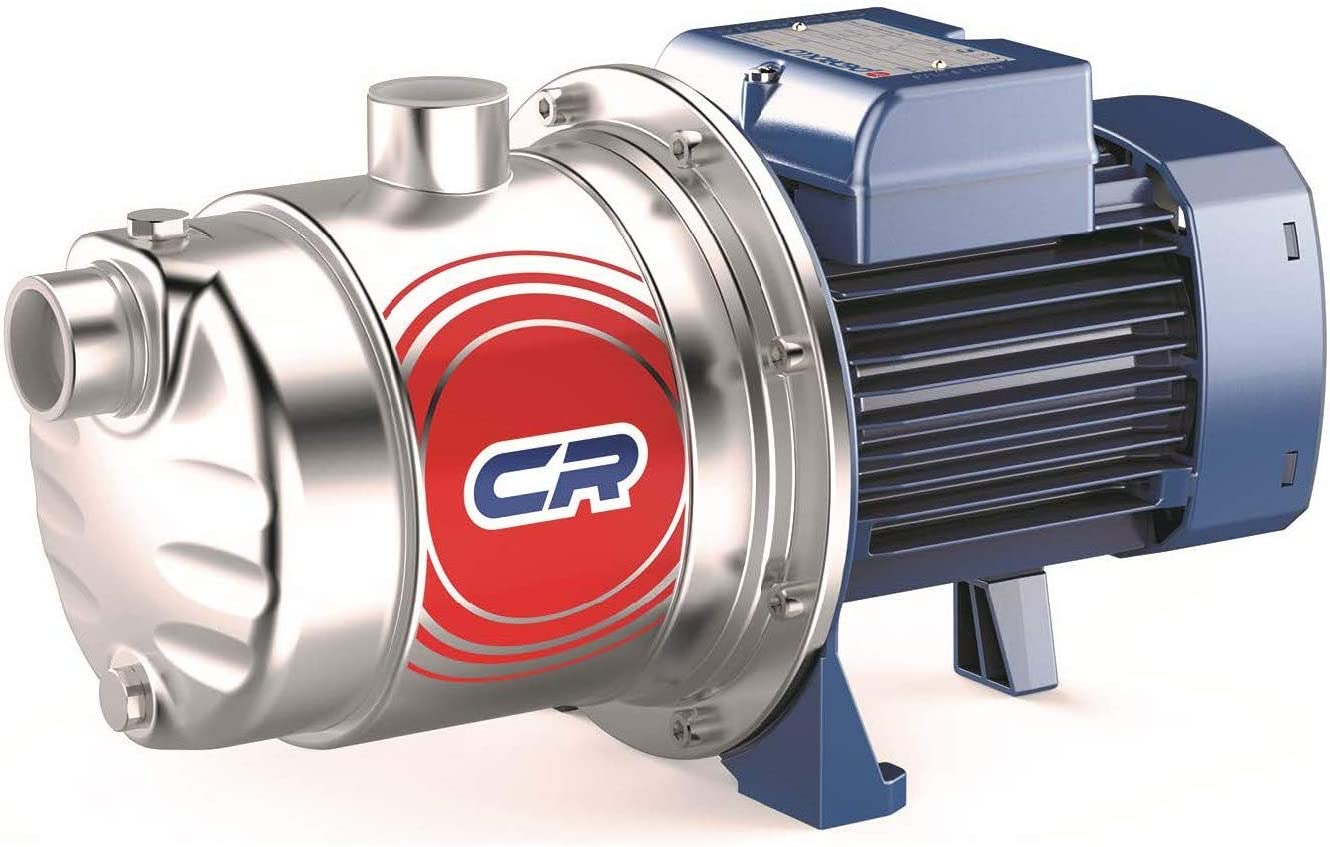 "Pedrollo JCRm 2C, 1"" x 1"" 115/230V 0.75kW 1HP Self-Priming""Jet"" Pump"