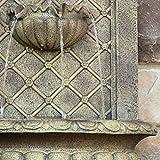 Sunnydaze Venetian Outdoor Wall Fountain with