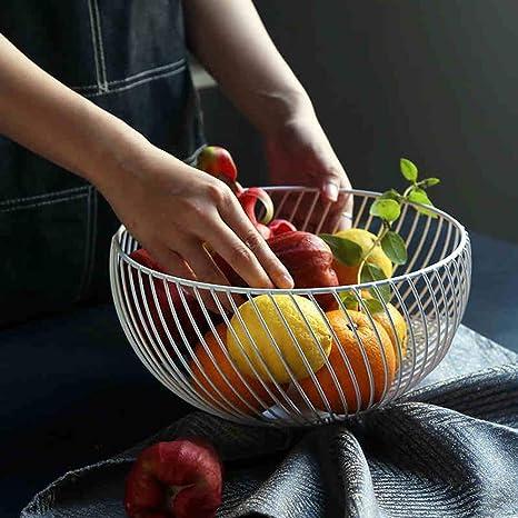 KICCOLY Cesta de frutero de mostrador, diseño Decorativo de ...