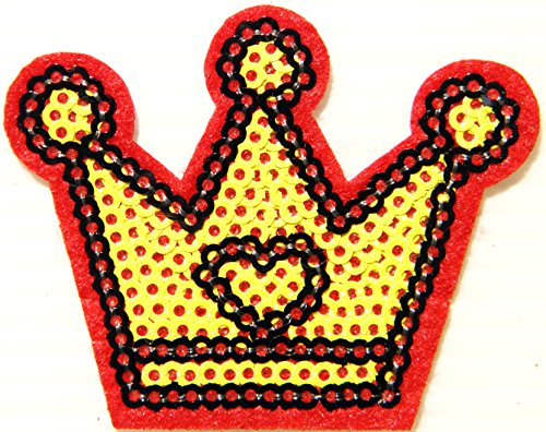 Heart Royal Crown King Queen Princess Prince Sparkly