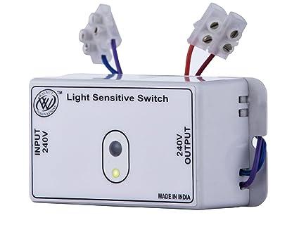 Wanut Innovations Day Night Switch,Light sensor switch,Automatic ...