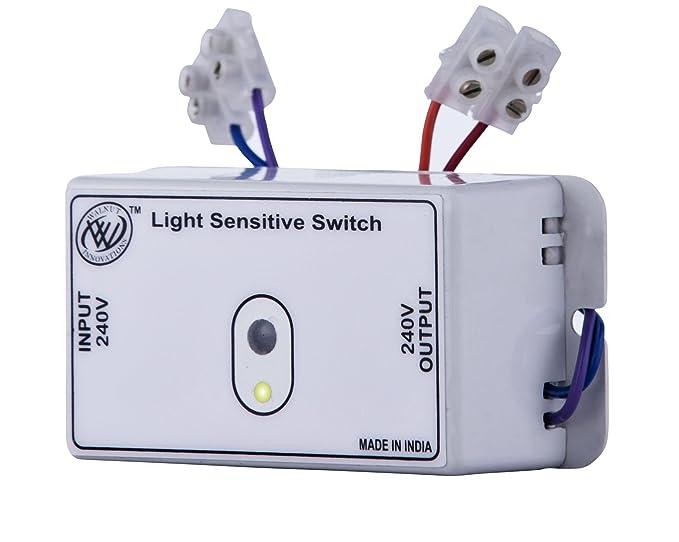 Day Night Switch,Light sensor switch,Automatic Light switch: Amazon ...