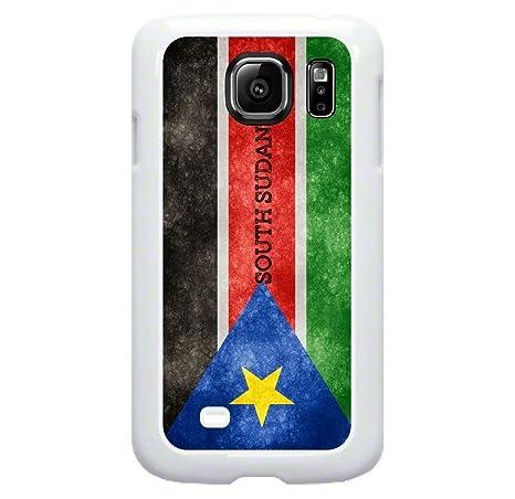 Amazon South Sudan Grunge Flag Tm Samsung Galaxy S7 Edge