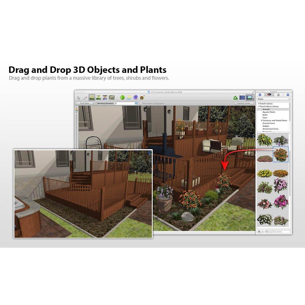 punch landscape design v17 5 download hardware building materials bricks stones concrete. Black Bedroom Furniture Sets. Home Design Ideas