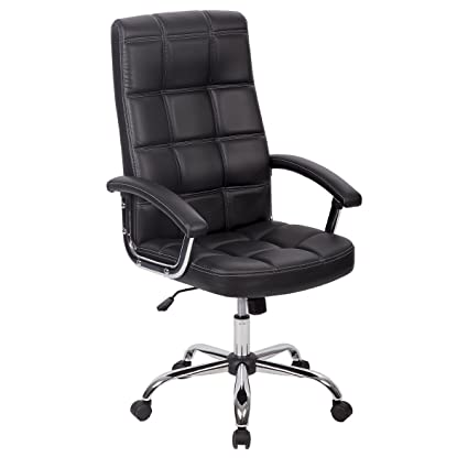 PU Leather Ergonomic Office Executive Computer Desk Task Office Chair