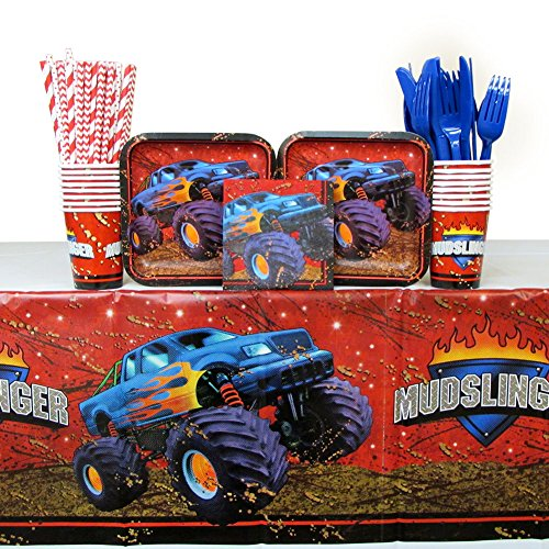 Monster Truck Party Supplies Guests