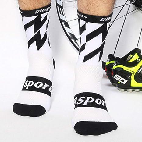 JohnJohnsen Calcetines de Ciclismo Deportes Bicicleta Correr ...