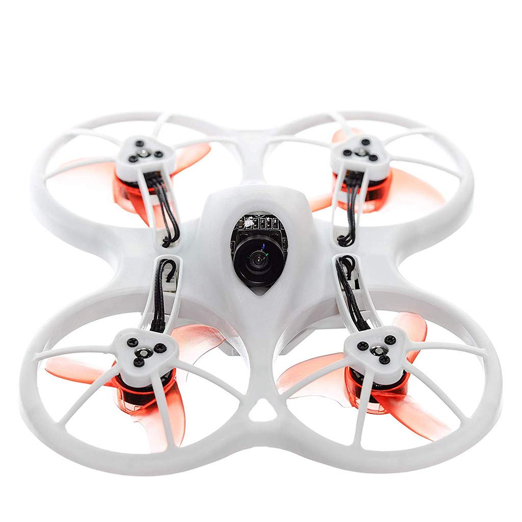 LuminitA EMAX Tiny Receiver Brushless Micro Indoor Racing Drone Whoop 75mm Ready to Fly FPV Beginners Durable Inverted Motors Full Acro Level Horizon Mode by LuminitA (Image #1)