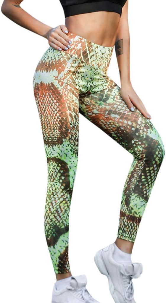 Pantalon de Yoga, Resplend pour Femme Imprimé Snake